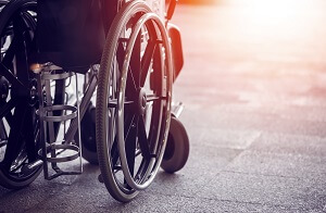 Wheelchair - catastrophic injury